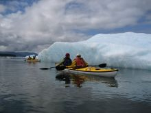 Kayaking to explore Southeast Alaska