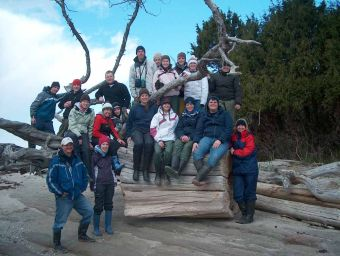 Marine School Trips in the Gulf Islands with Bluewater Adventures