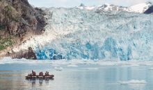 Exploring the glaciers in Southeast Alaska